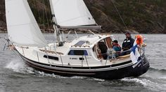 28 MS   Degerö Boat Oy   Comparable to a Fisher, but with a less classic look.
