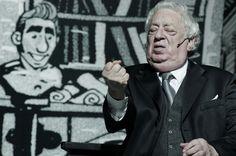 """Paolo Bonacelli in """"La Mandragola"""", regia di Jurij Ferrini #teatro #attore #spettacolo #lamandragola"""