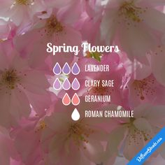 Spring Flowers - Essential Oil Diffuser Blend