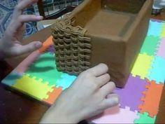 step by step effect basket in sugarpaste