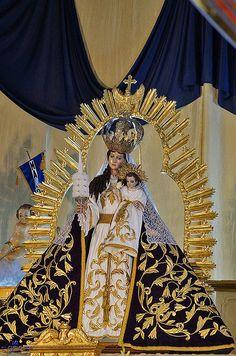 [Altar] Virgen de Candelaria. Parroquia Nuestra Señora de Candelaria Lunes, 02 de febrero de 2015