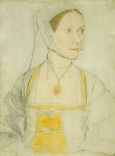 Hans Holbein the Younger, Cicely Heron (1526-27, Royal Collection Trust, London)