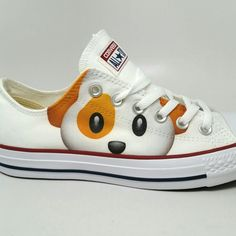 Beagle Converse Chucks. Use code Dog25 for 25% Beagle Chucks
