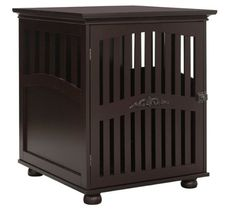 Dog Crates for Medium or Large Dogs for Indoor Use Modern End Table Espresso,Dog kennels -- Quickly view this special dog product, click the image : Dog crates