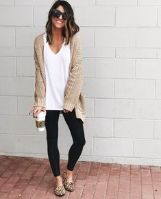 51 Cozy and Cute WInter Outfit with Legging #Outfit #Women Outfit #Women Outfit