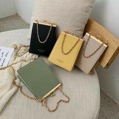 Leather Clutch Bags, Leather Purses, Pu Leather, Small Handbags, Purses And Handbags, Luxury Bags, Luxury Handbags, Designer Crossbody Bags, Girls Bags