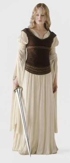 Eowyn. One day I shall do this cosplay but only when I can do it perfectly. And I'd want to do her armor