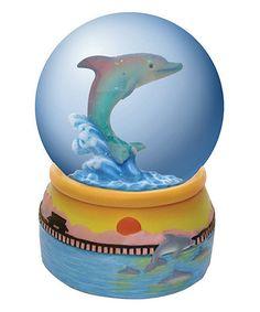 Dolphin Dream Water Globe | zulily