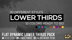 Buy Flat Dynamic Lower Thirds Pack by CandyMustache on VideoHive. After Effects or Higher / / HD Resolution After Effects Left and Right aligned lower thirds 30 Differ. Lower Thirds, New Year Wishes, After Effects Templates, Different Styles, Packing, Positivity, Flat, Minimal, Abstract