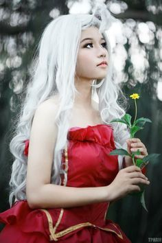Mirajane cosplay fairy tail from mranime50