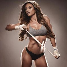Paige Hathaway fitness model, personal trainer and motivator. Description from…