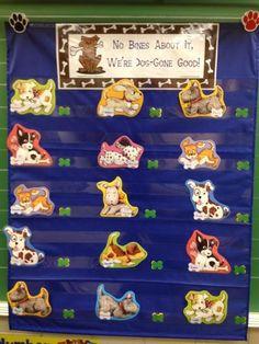 Dog theme classroom- behavior chart