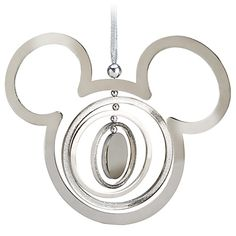 Mickey's in a spin to bring extra fun to your tree with our Mobile Mickey Mouse Icon Ornament. Concentric circles rotate and sparkle with glitter accents on this authentic Disney Parks ornament for a special holiday tradition. Mickey Mouse Ornaments, Disney Christmas Ornaments, Mickey Mouse Christmas, Christmas Ideas, Xmas Ornaments, Christmas Stuff, Christmas Holiday, Christmas Crafts, Christmas Decorations