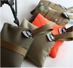 Rear shooting bag (rest). Cheap stocking stuffer for the man with everything at Christmas. $15/ea Made by MT gunsmith