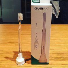 気になってた #gumplay を買ってみた これはすごい画期的子供にめちゃ良さそう #iot #歯ブラシ by taf_ta
