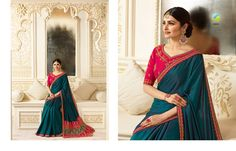 Designer Indian bridal sarees ..Prachi Vinay sarees .For orders contact 9179504192