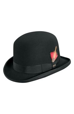 e176de0bf20 Scala  Classico  Wool Felt Derby Hat
