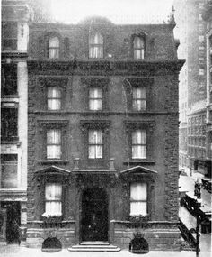 The Fifth Avenue townhouse of Jay Gould, the owner of Lyndhurst. After Jay Gould died, his daughter Helen lived there till her death in the 1938. The house later became a shop and was eventually torn down in 1953.