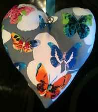 Butterfly Fabric Lavender Bag / Buttery Gift / Botanical Decor - Handmade