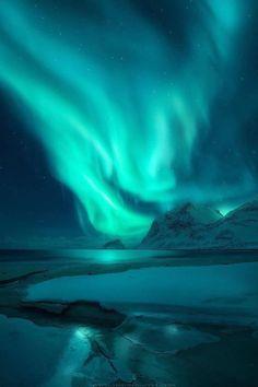 Ideas photography night sky stars aurora borealis - Annie Wofford - Re-Wilding Night Sky Stars, Sky Full Of Stars, Night Skies, Starry Night Sky, Aurora Borealis, Beautiful Sky, Beautiful Landscapes, Northen Lights, Belle Photo