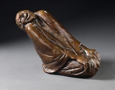 Ernst Barlach: Laughing Old Woman, bronze, 1937