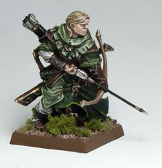 Wood Elf, by Enigma Miniatures. Painted by Tyler6688