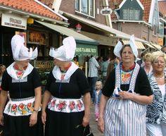 klederdracht in holland foto's | foto in Noord Holland, door: Joop Zand
