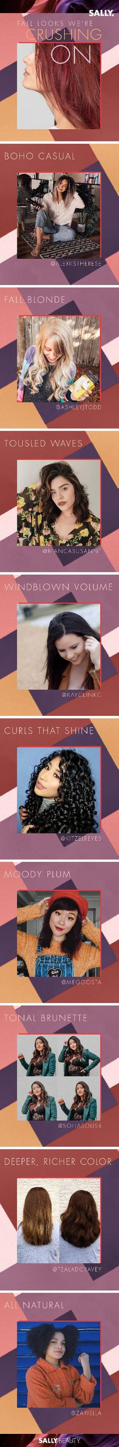 These are the 9 hair styles we're crushing on for fall! Long Hai, Renaissance, Sally Beauty, Beauty Supply, Big Hair, Easy Hairstyles, Makeup Tips, Salons, Hair Care