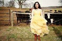 Ranch-site wedding.