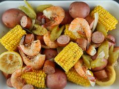 Crock pot Shrimp Boil