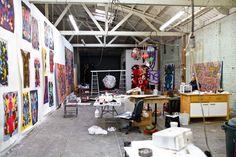 Drool worthy - Alexandra Grant's studio in the historic West Adams district of LA