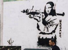 Los Graffitis de Banksy en la Vida Real por Nick Stern | FuriaMag | Arts Magazine