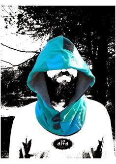 #upcycling #t-shirts Transformação de t-shirts em belos capuzes
