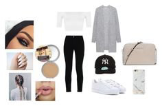 """""""Untitled #5"""" by emilieantonsen on Polyvore featuring beauty, STELLA McCARTNEY, adidas, WearAll, New Era, Richmond & Finch, MICHAEL Michael Kors, Acne Studios and TheBalm"""