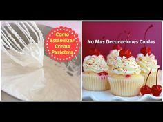 Cómo estabilizar crema para pasteles ¡Solución definitiva!