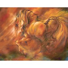 Fire by Wendy Froshay Fire Painting, Horse Gifts, Painted Pony, Equine Art, Horse Art, Mother Earth, Impressionist, Oil On Canvas