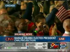 CNN - Breaking News: Barack Obama Elected President