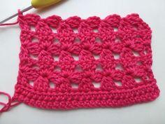 How to Crochet Flower Mesh Stitch - Video Tutorial