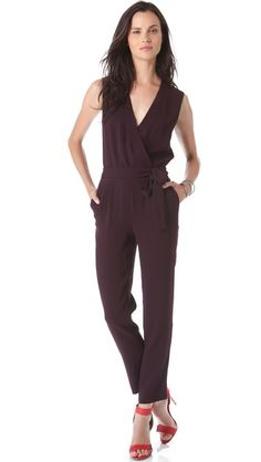 b2b8643601e5f Diane von Furstenberg Berry Jumpsuit Jumpsuit Images, Catherine Malandrino,  Alternative Fashion, Summer Wear