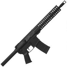 "CMMG MKW-15 K AR-15 Semi Auto Pistol .458 SOCOM 12.5"" Medium Barrel 10 Rounds RKM15 Keymod Handguard 6 Position Collapsible Stock Black"