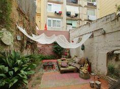 A #terrace in an apartment in Gràcia, Barcelona.