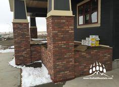 Van Arbor Homes – Lethbridge Thin Brick Veneer, Manufactured Stone, Home Builders, Custom Homes, Cambridge, Natural Stones, Luxury Homes, Beautiful Homes, Building A House