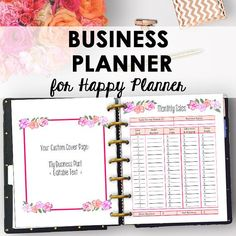 Business Plan Inserts for Happy Planner, Printable Direct Sales, Printable Business Planner Inserts Binder Printables 9 x 7 Instant Download https://www.etsy.com/listing/518010000