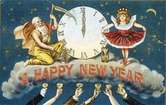 NEW YEAR with Father Time