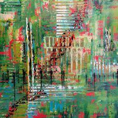 "Saatchi Art Artist jean-humbert savoldelli; Painting, ""LES BUCOLIQUES"" #art"