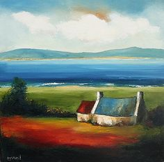 padraig mccaul | Under Summer Clouds by Padraig McCaul | Irish Art, The Doorway Gallery ...