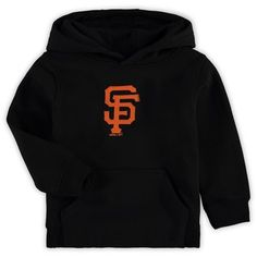 Ensure the youngster in your life can display die-hard dedication to the San Francisco Giants by getting this Primary Logo Fleece pullover hoodie. Mlb Merchandise, San Francisco Giants, Hoodies, Sweatshirts, Black Hoodie, Pullover, Cotton, Shopping, Originals