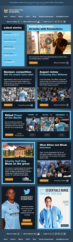 Best emails in the Premier League - Manchester City