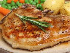 Melt-in-your-mouth pork chops coated with lemon pepper and baked in butter, olive oil, and Worcestershire sauce.