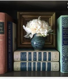 quenalbertini: Books and flowers English Country Style, English Country Houses, English Cottages, English Decor, English Country Decorating, English House, English Library, Bookcase Styling, Shabby